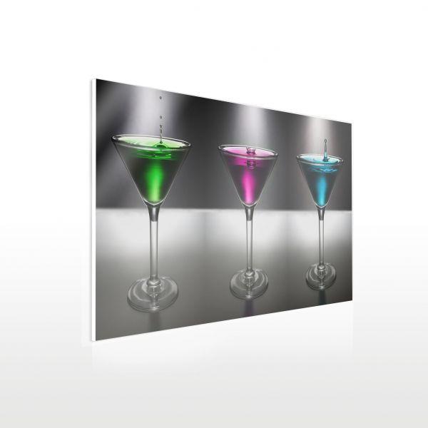 Acrylglas Wandbild in XXL - Vorschlag Cocktail Gläser